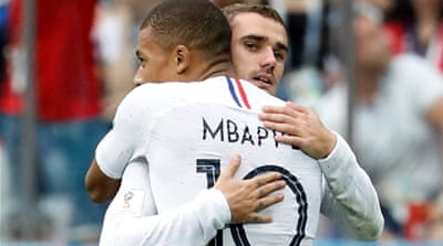 France beat Uruguay to reach World Cup 2018 semi-finals