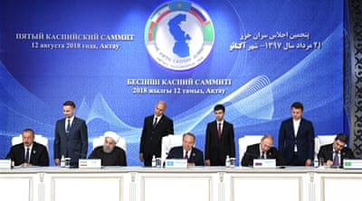 Five-nation deal paves way for tapping Caspian riches