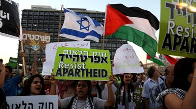 Israel's nation-state law to unleash 'deepening apartheid'