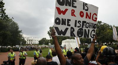 'Unite the Right 2018': Anti-racists outnumber far right in DC