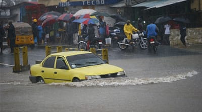 Flooding leaves parts of Liberia's capital under water