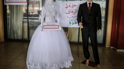 From wedding dresses to soap: Gaza event highlights Israeli siege