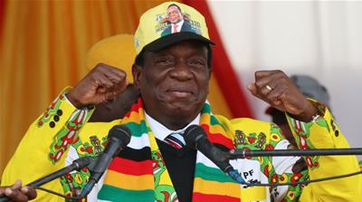 Zimbabwe election: Emmerson Mnangagwa declared winner
