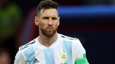 Palestine football chief Rajoub banned over Messi comments