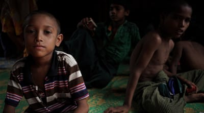 'Remembering how to be children': Young Rohingya overcome trauma
