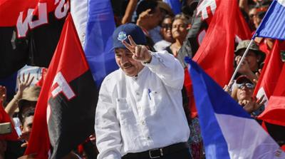 Ortega's government faces an economic crisis and a large budget deficit [Anadolu]