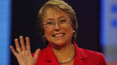 Report: Chile's Bachelet to be next UN human rights chief
