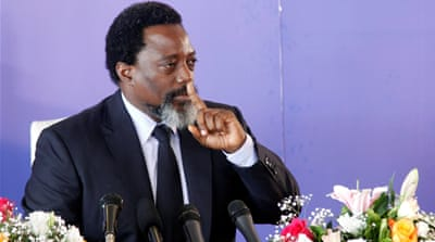 DR Congo's Kabila will not stand for re-election: spokesman