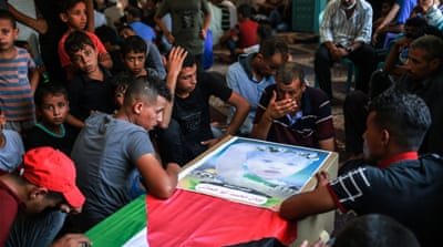 'Pain, agony': Gaza mourns death of pregnant mother and toddler