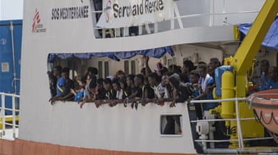Proposal for rapid screenings of refugees at sea draws fire