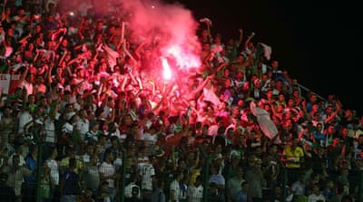 Iraqi football club quits Algeria game after 'sectarian' chants