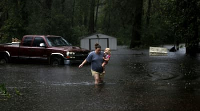 'Florence is not over': At least eight dead as storm downgraded