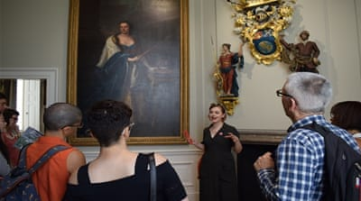 Alternative museum tours explore colonial loot, biased narratives