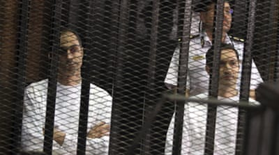 Egypt: Mubarak's sons arrested  for alleged stock manipulation