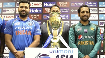 Cricket: India and Pakistan face off in Asia Cup