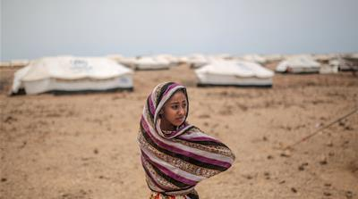 Yemenis find refuge, little else, in Djibouti's Obock camp