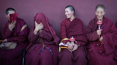 Life inside one of the world's biggest Buddhist monasteries