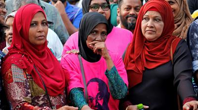 Maldives security forces vow to uphold presidential vote results