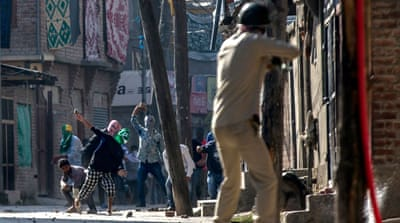 Protests in Kashmir after civilian shot dead by Indian troops