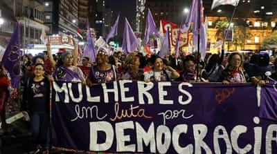 Brazil elections: Fighting to put women's rights at the forefront