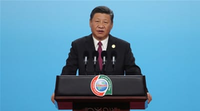 China's Xi offers $60bn in financial support to Africa