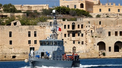 Malta allows migrants off rescue ship after five days