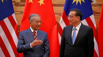 Malaysia's new government is pushing back against China