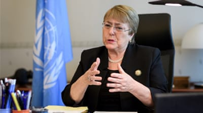 UN rights chief urges Egypt to overturn mass death sentences
