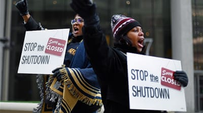 US workers facing debt from last shutdown fear deal may collapse