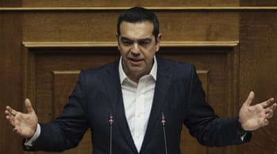 Greek PM Alexis Tsipras wins confidence vote
