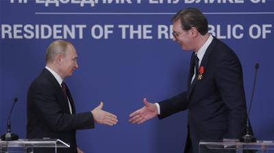 The Belgrade visit was Putin's gift to Vucic