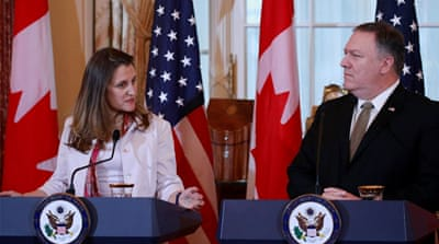 US: Death sentence to Canadian in China 'politically motivated'