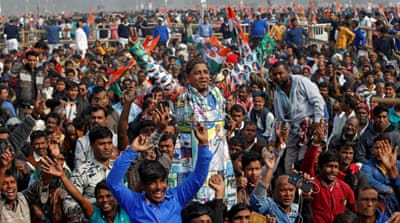 Half a million attend opposition rally to remove India's Modi