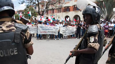 Thousands protest 'election fraud' in Madagascar
