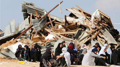 Demolition highway: Israel plans to force Bedouin from homes