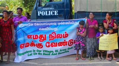 Ten years after end of war, Tamils still waiting to return home