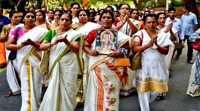 Will women win fight to worship in Hindu temple?