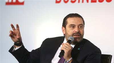 Hariri faces a big challenge in delivering reforms needed to address the dire public finances [Mohamed Azakir/Reuters]