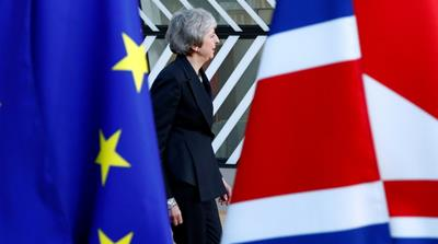 British Prime Minister Theresa May is facing a parliamentary showdown over her Brexit deal on January 15 [File: Francois Lenoir/Reuters]