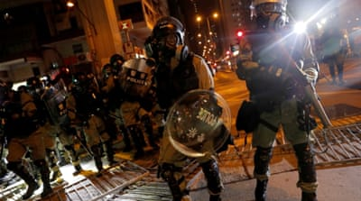 Apple withdraws police-tracking app used in Hong Kong protests