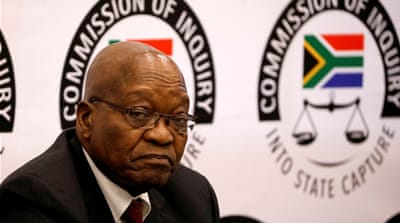Former South Africa President Zuma must face trial, judges rule