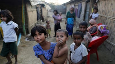 Myanmar jails 21 Rohingya, detains children, for trying to travel