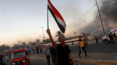 Iraq protests: Taking on the establishment, fighting to be heard