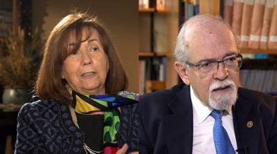 Chile's top astronomers, Dr Maria Teresa Ruiz and Dr Jose Maza Sancho talk to Al Jazeera [Al Jazeera]