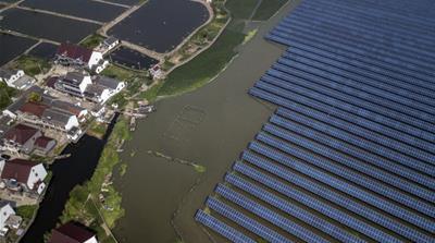 China renewable energy Bloomberg