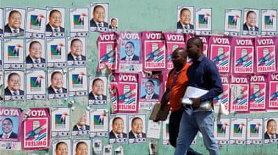 EU criticises 'unlevel playing field' in Mozambique election