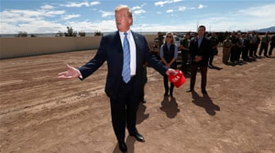 Donald Trump found a different way to build his wall