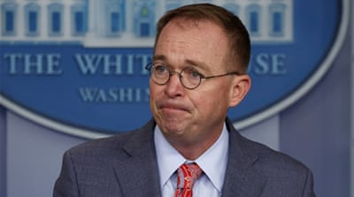Mick Mulvaney missteps draw scrutiny from Trump allies
