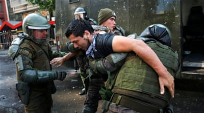 'We are at war': Chile's Pinera extends state of emergency