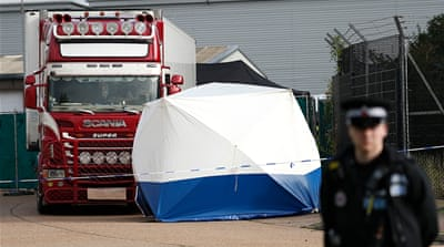 UK truck deaths shine spotlight on human trafficking